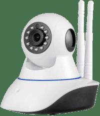 Беспроводная поворотная WiFi камера видеонаблюдения Ps-link G90C, P2P, (wi-fi)