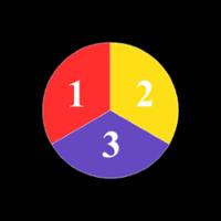Гобо-слайд (стекло, d=37 мм, три цвета)