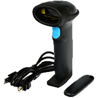 Беспроводной сканер штрих-кода АТОЛ SB1103 USB (черный)