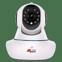EVC-WIFI-ES10 Миниатюрная, поворотная WiFi видеокамера с функцией Р2Р, 1.0 Мп