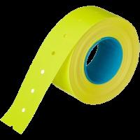 Этикет-лента 21,5х12 с перфорацией желтая (800 эт/рол)
