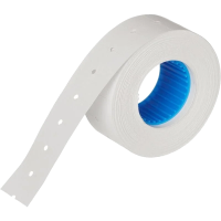 Этикет-лента 21,5х12 с перфорацией белая (750 эт/рол)