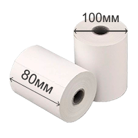 Термоэтикетка 100*80 (500 этикеток) 24 шт/кор
