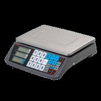 Весы торговые АТОЛ MARTA (без стойки, СОМ порт, кабель RS-232, лицензия FDU)_с поверкой