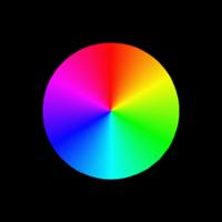 Гобо-слайд (стекло, d=37 мм, полноцветный)