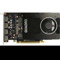Видеокарта PNY VCQP2000-PB (RTL) 4xDP NVIDIA Quadro P2000