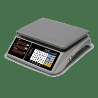 Весы MERCURY M-ER 328AC-15.2 LCD с RS-232  и USB(COM)