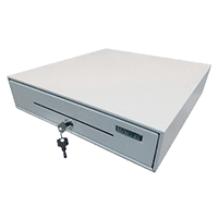 Денежный ящик Меркурий 100, белый