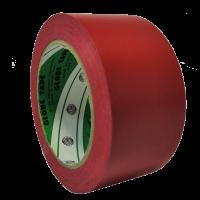 Лента ПВХ красная 33м (50 мм)