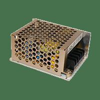 Источник питания 12V  5A  в металлическом корпусе, с регулятором напряжения