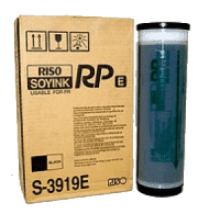 Краска RISO FR/RP Black (1000мл) (o) S-3919E