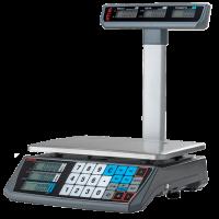 Весы торговые АТОЛ MARTA (со стойкой, СОМ порт, кабель USB-RS, кабель RS-232, лицензия FDU)_с поверк